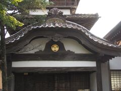 駅Cafeの向い側にある阿弥陀寺の御三階。