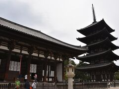 次の訪問地は興福寺。 五重塔が美しい。