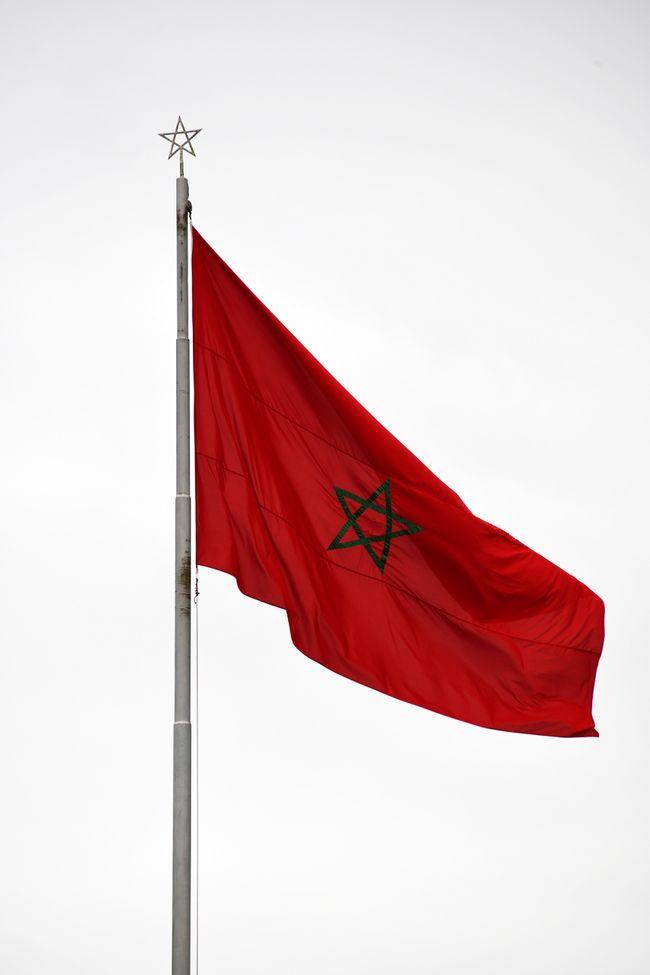 国旗をみると、異国に来た感が強くなります。