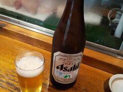 まずはビールで乾杯!