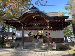 史跡公園に隣接して川中島古戦場跡には古くからの八幡社が静かにたたずむ。