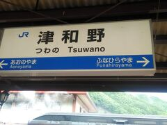 そして津和野駅に着きました!!  戸出からの移動距離   1218.7km 山口からの移動距離         50.2km 4日目に移動距離             154.3km