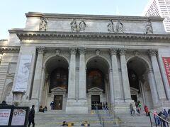 ニューヨーク公共図書館へ。