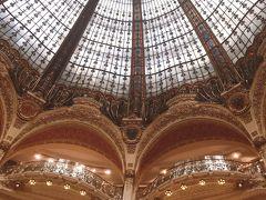 友人夫婦と別れた後はせっかくなのでラファイエットとプランタン、 パリの2大百貨店へ立ち寄ってみることに! まずはギャラリーラファイエットから。シャンゼリゼ店には行っていましたが 本店の迫力はやっぱりすごい!有名な天井も記念撮影。 お日様の光が入って綺麗~!