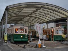 近くに保存されている京都市電も見ておきます。