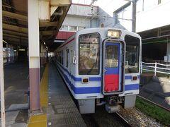 そして、越後湯沢から乗るのはほくほく線。