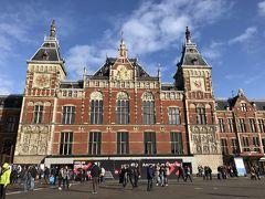 ★3日目  『アムステルダム中央駅』に到着しました。  1889年築。JR東京駅とは姉妹駅。