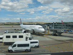 エールフランス機でパリへ。