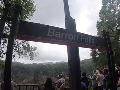 2つ目の停車駅のバロンフォール駅です。観光のための駅ですね。10分ほど停車します。ここからトレッキングとかもできるのかな?