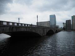 で、萬代橋到着。 新潟と言えば、なんだかんだ言っても最初に浮かぶのはここです。