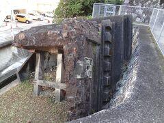 原爆により破壊された鐘楼。こんな所まで飛ばされたのかと思うと…。 貴重な原爆遺構です。