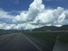 アイダホ州をドライブ