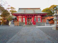 日和山の中心には鹿島御児神社があります。