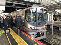 いつもならばここまででしたが、今回はさらにJRに乗って南を目指します。 大阪環状線を西九条方面へ。