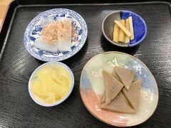 お昼を食べていなかったので、西沢渓谷入口から少し下ったところにある蒟蒻館へ。