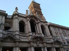 ローマ観光の締めに、もう一度サンタマリアマジョーレ大聖堂を見学しました。