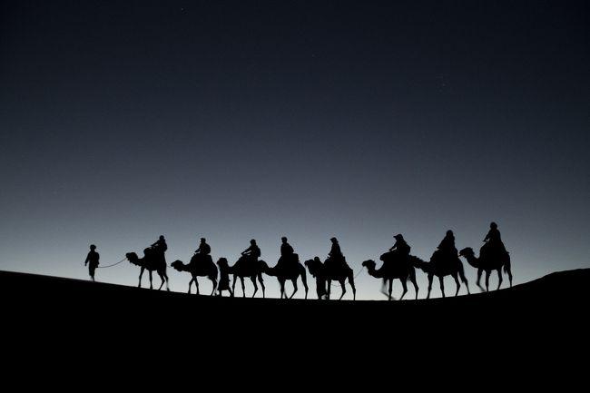 砂丘を必死に駆け回って、撮りたかったのはこんな写真。<br />大満足です!<br />へろへろになりましたが・・・汗