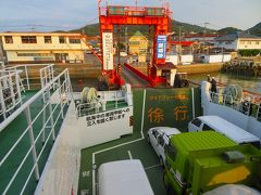 口之津港に到着。  昨日朝、ここから天草に渡ったばかりですがなんとなく帰ってきたって気分。