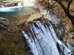 最大のハイライトはやはり何と言っても七ツ釜五段の滝でしょう! たくさんの人が写真を撮っていました。