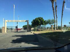 レイ クロック野球練習場