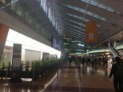 いつもの羽田空港第2ターミナル。