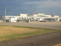 定時に小松空港着陸。