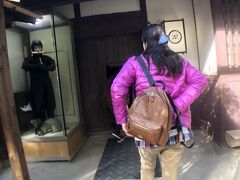 忍者屋敷の見学に来ました。