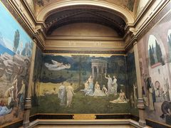 これらの壁画は、1880年代初頭、リヨン市から依頼されて描かれたもの。