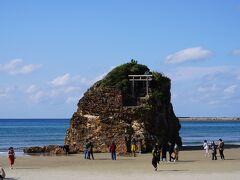 稲佐の浜に到着です!!  旧暦10月10日に、全国の八百万の神々をお迎えする浜です。 今年は、訪れた2日前がそうでした。