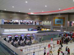 ドンムアン空港の国内線ターミナルに向かう。