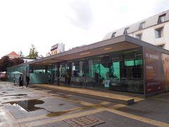 さて、雨もやんだので駅に近いところから攻めていきます!  まずはルーベンスの家へ。  こちらのガラス張りの建物で入場チケット8ユーロ(約960円)を購入します。