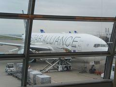 ラウンジで一休みをしたら、本日搭乗する65番ゲートまで向かいます。これから乗る飛行機はこれですね。(777-200)