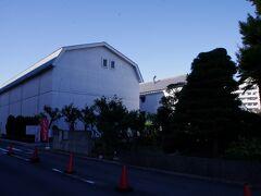 片倉シルク記念館 ここも入館無料でした。ここが製糸工場跡地です。