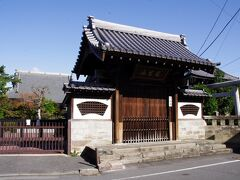熊谷寺 観光不可でした。