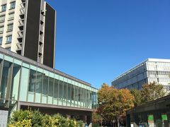 名古屋駅から満員の地下鉄に乗り換え、何とか時間通りに名古屋大学到着。