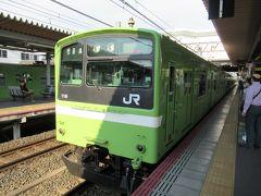 久宝寺駅に到着しました。ここから新しく開通したおおさか東線に乗車します。