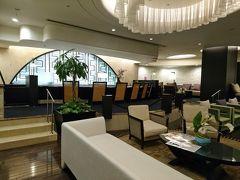 今回泊まったホテル アタミシーズンホテルのロビー