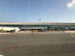 結局10分ちょっとの早着で釜山金海国際空港にランディング。 天気が良いと何でも順調!