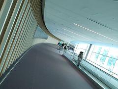 初の第二ターミナル。 出来たてて綺麗でしたが、第一ターミナルっぽさもあり、馴染みやすかったです。