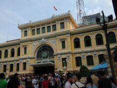 中央郵便局!教会のすぐ目の前にあります!