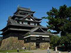 ほう、いいじゃないですか。 瀟洒な彦根城あたりと比べると無骨ででかい。