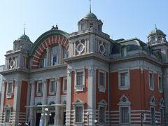 """大阪市立東洋陶磁美術館前には中央公会堂があります。大正時代のレトロ建築で大阪市のシンボルの一つです。こちらの地下に""""オムライス""""が美味しいレストランがありましたが閉店したので近くの天ぷら店へ"""