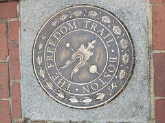 その後、ボストンの歴史を辿れるフリーダムトレイルは