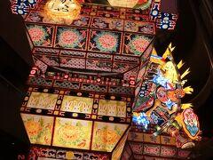 五所川原立佞武多は1998年から高さ23 mの明治時代の立佞武多に 復元し8月4日~8日まで祭りが開かれています。