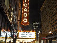 Lake駅で降りて、すぐ近くにあるシカゴシアターを眺めに。