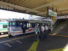 【その2】からのつづき  新津から、国鉄形キハ47に乗って、阿賀野川に沿った磐越西線の景色を楽しみました。