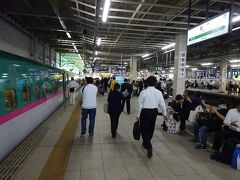 車内でゆっくりくつろぐ暇もなく、郡山駅から約35分で仙台駅に着いた。