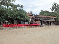 本日のホテル、サンドシーリゾートはビーチフロントなのですぐに見つかりました。
