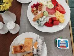 11/8 ホテルの美味しい朝食をしっかり食べて出掛ける