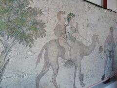 モザイク博物館 コンスタンチノープル時代の宮殿跡のモザイク ちょっと地味かな
